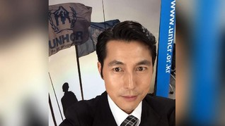 Jung Woo Sung Tunjukan Solidaritas untuk Anak-Anak di Suriah