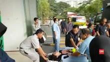 Polisi Sebut 14 Korban Selasar BEI Roboh Sudah Dipulangkan