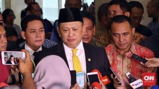 Pimpinan DPR Bahas Surat Tanggapan Menkumham soal UU MD3