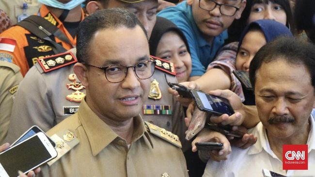 Luncurkan Sistem 'Jakarta Satu', Anies Ingin Kontrol Aset DKI
