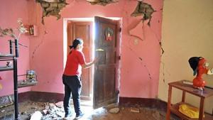 FOTO: Potret Kehancuran Akibat Gempa Peru