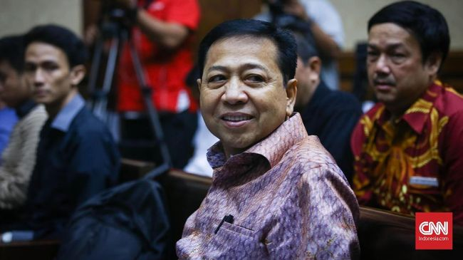 KPK Klaim Tak Pernah Minta Setnov Ajukan Justice Collaborator