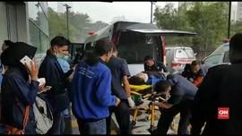 VIDEO: Evakuasi Korban Robohnya Selasar Gedung BEI