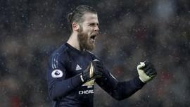 De Gea Tunda Pembicaraan Kontrak dengan Manchester United
