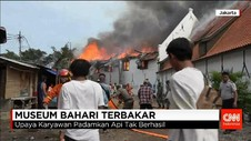 Kebakaran di Museum Bahari