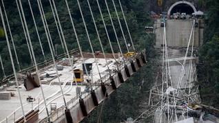 Jembatan Ambruk di Kolombia, 10 Tewas