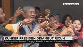 Kunjungan Kerja Presiden Disambut Ricuh