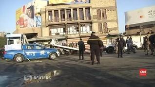 VIDEO: Dua Bom Bunuh Diri di Irak, Korban Tewas Bertambah