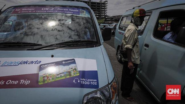 Pemprov DKI Siapkan Payung Hukum Akomodasi Angkot di OK Otrip