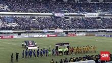 Persib Bandung vs Sriwijaya FC Tanpa Gol di Babak Pertama