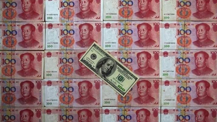 Penanaman modal asing (PMA) di China turun 9,2% secara tahunan yoy menjadi 73,94 miliar yuan (Rp 153,2 triliun) di Desember