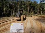 PUPR Libatkan Zeni TNI AD Bangun Jalan Perbatasan Kalimantan
