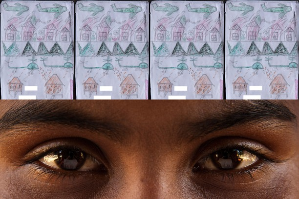 Hasil Menggambar Anak-anak Rohingya yang Bikin Miris