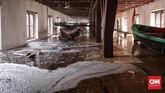 Kepala UPT Museum Bahari Husnizon Nizar menyatakan tempat yang ia kelola tersebut baru saja selesai renovasi, dan diresmikan kembali oleh Menko Maritim Luhut Binsar Pandjaitan pada 27 Februari 2017. (CNN Indonesia/Hesti Rika)