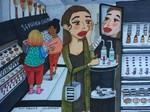 10 Ilustrasi Manis Ini Gambarkan Perilaku Unik Wanita Atasi Kegalauannya