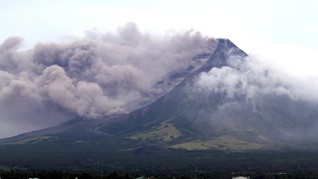 Gunung Mayon Keluarkan Lahar, Sejumlah Sekolah Filipina Libur