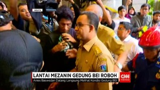 Pasca-Ambrol, Gubernur Anies Baswedan Sambangi Gedung BEI