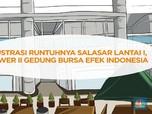 Ilustrasi Lantai Mezanin Tower II Bursa Ambruk