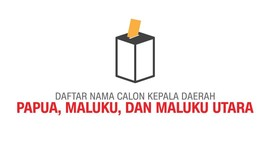 Calon Gubernur dan Wakil Gubernur di Indonesia Timur