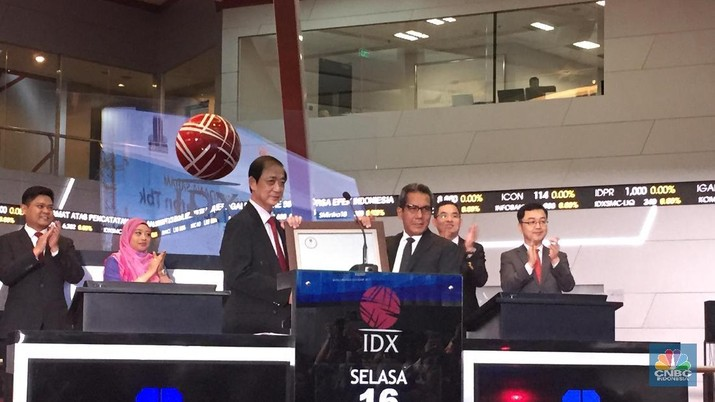 Saham LCK Global Kedaton Ditransaksikan Menguat