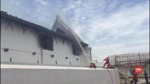 VIDEO: Museum Bahari Terbakar, Alumunium Sulitkan Pemadaman