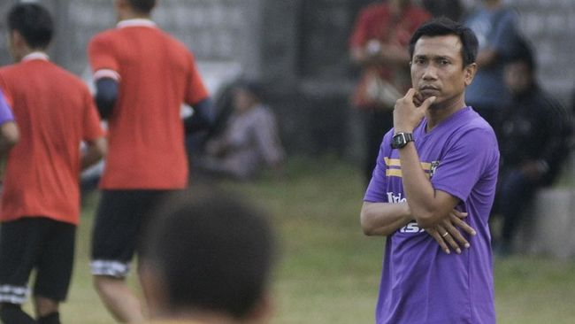 Widodo Enggan Pikirkan Peluang Menjadi Pelatih Persib