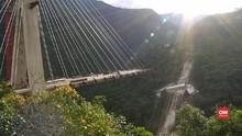 VIDEO:  Penyelamatan Korban Jembatan Ambruk di Kolombia