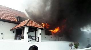 Alat Pemadam Kebakaran di Museum Bahari Tak Terisi Penuh