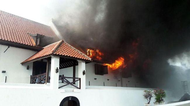 Museum Bahari Jakarta Terbakar, Belasan Damkar Dikerahkan