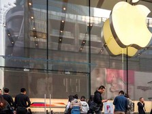 Korban Corona di China Turun Drastis, Apple Buka Semua Toko