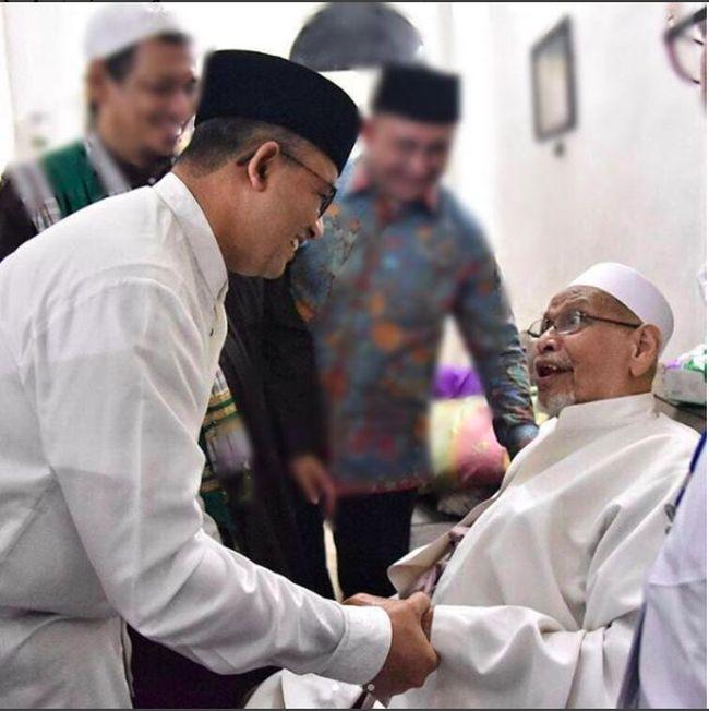 Habib Abdurrahman Kwitang Dimakamkan Di Pemakaman Keluarga
