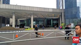 Polisi Periksa Pengelola Gedung BEI soal Robohnya Selasar