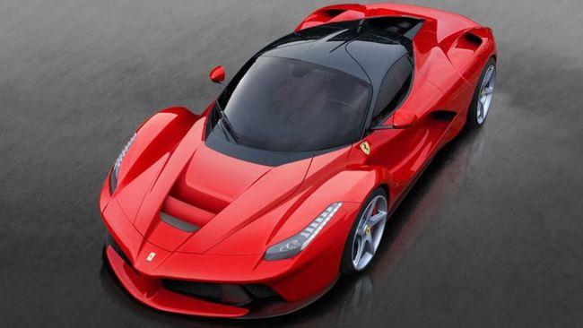 Ferrari Mulai Tinggalkan Mesin Konvensional