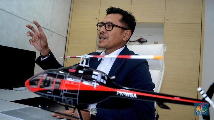CEO & Founder Whitesky Aviation, Denon Prawiraatmadja