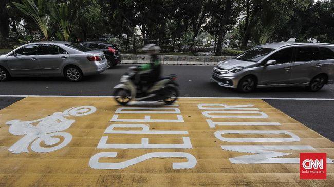 Ganjil Genap Jakarta Tak Berlaku untuk Sepeda Motor