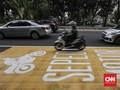 Mulai 5 Februari, Motor Lewat Jalur Cepat Thamrin Ditilang