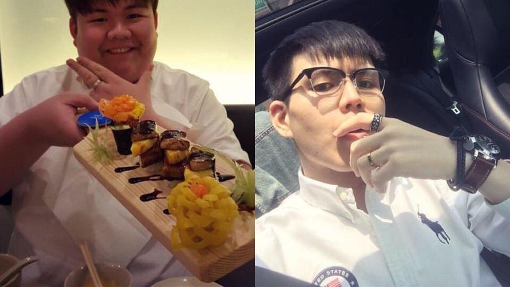 Transformasi Pria Gemuk yang Jadi Tampan Berkat Olahraga dan Diet
