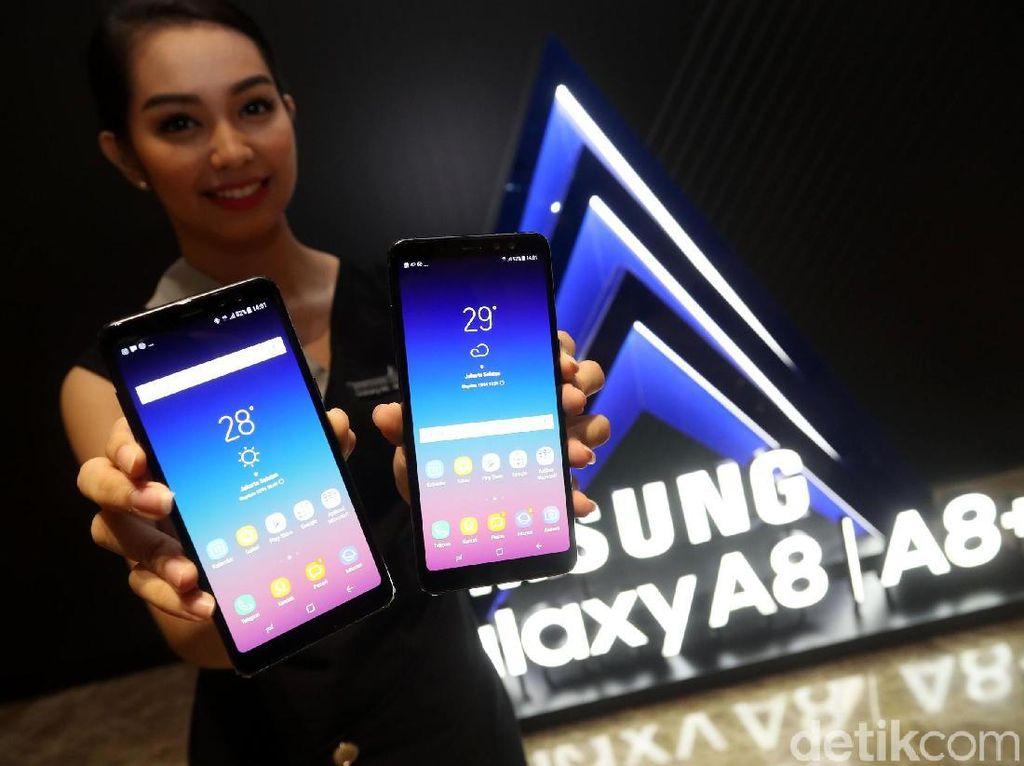 Foto: Sah! Galaxy A8 dan A8+ Resmi Masuk Indonesia