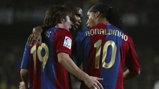 Messi Bantah Keluarkan Rp25 Miliar untuk Jaminan Ronaldinho