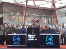 Targetkan Laba Rp 450 M, PP Presisi Siapkan Capex Rp 1,6 T