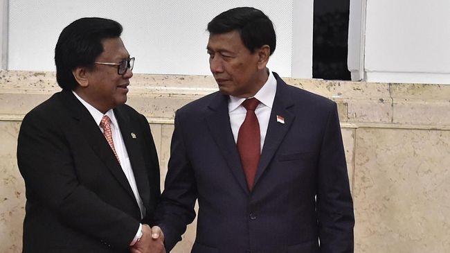 Kemenko Polhukam Sesalkan Tudingan Kubu Oso untuk Wiranto