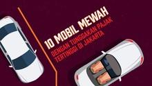 Sepuluh Mobil Mewah dengan Tunggakan Pajak Tertinggi