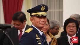 Resmi Jadi KSAU, Yuyu Sutisna Kini Jenderal Bintang Empat