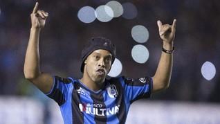 Ronaldinho Diklaim Menikah dengan Dua Wanita Sekaligus