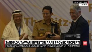 VIDEO: Sandi Tawarkan Program DP Nol Persen ke Investor Saudi