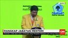 Presiden Tak Akan Ganti Airlangga dari Jabatan Menteri