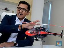 Sejak Mengudara, Taksi Helikopter Whitesky Layani 50 Trip