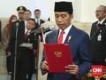 Jokowi Lantik 16 Duta Besar untuk Sejumlah Negara