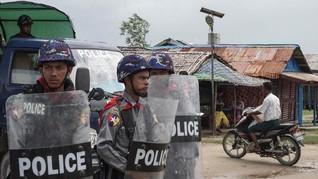 Batasi Gerak Pemberontak, Myanmar Blokir Internet di Rakhine