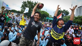 Gara-gara Cantrang, Nelayan Ancam Bertahan di Jakarta